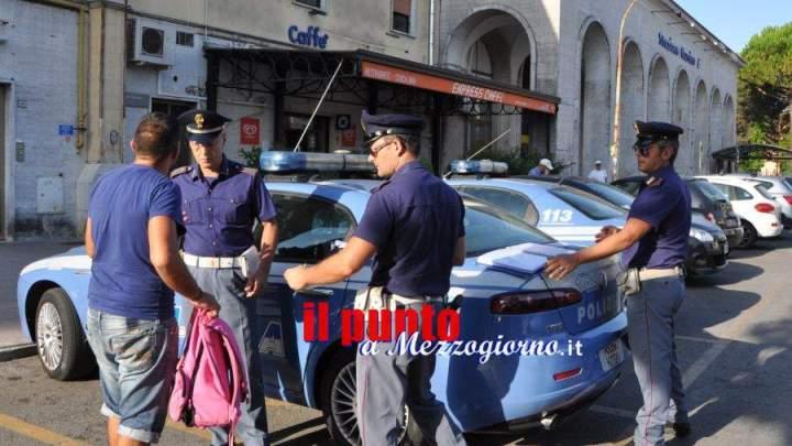 I controlli della polizia alla stazione ferroviaria di Cassino abbattono le denunce di furti al mercato