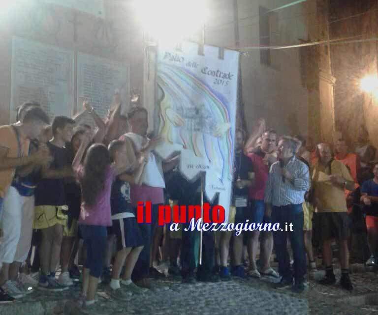 La contrada San Liberatore vince la ventunesima edizione del Palio delle contrade di Castrocielo