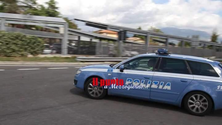 Polizia Stradale di Frosinone, il bilancio 2017. Aumento degli incidenti, ma meno vittime
