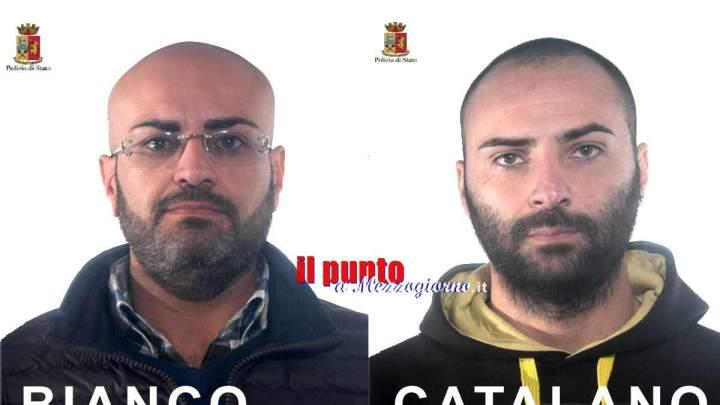 La polizia ferma il reggente del clan Zagaria insieme ad un affiliato