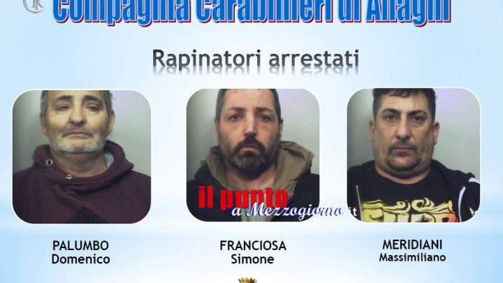Tentano la rapina in banca a Paliano, i malviventi fuggono per le campagne. Arrestati
