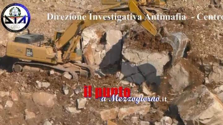 Sequestrati beni per 20 milioni imprenditore di Formia, sigilli a due cave di Coreno