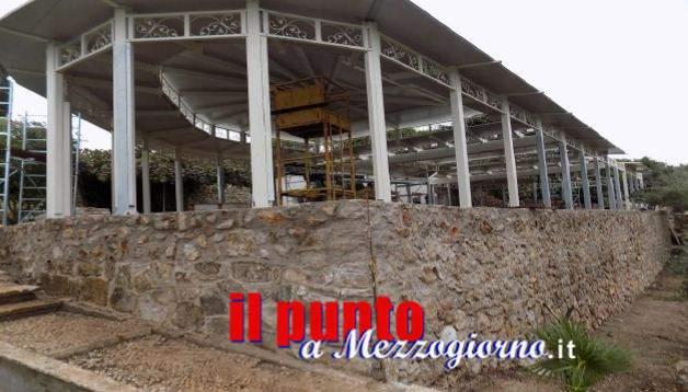 Doveva essere una struttura removibile ma era in cemento armato, cantiere sequestratoa Terracina