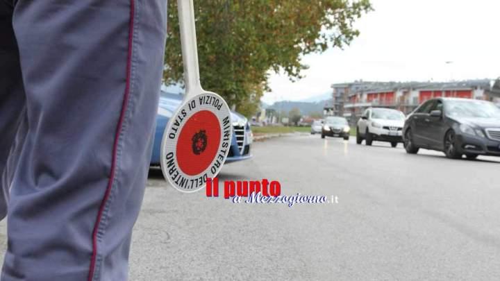 Mezzo chilo di hashish nel bauletto dello scooter arrestato28enne a Frosinone