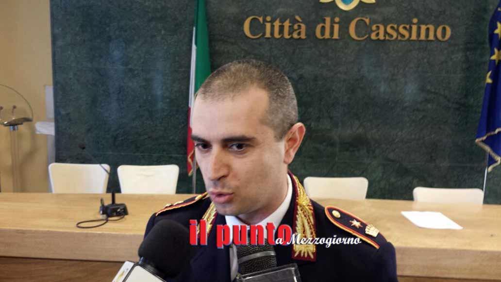 Cassino scioglie il contratto al comandante dei vigili urbani Alessandro Buttarelli