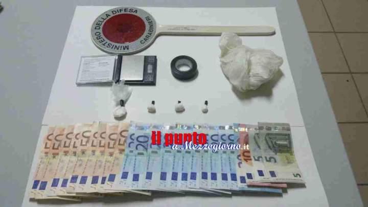 Arrestato un 44enne della Val di Comino per detenzione ai fini di spaccio di droga