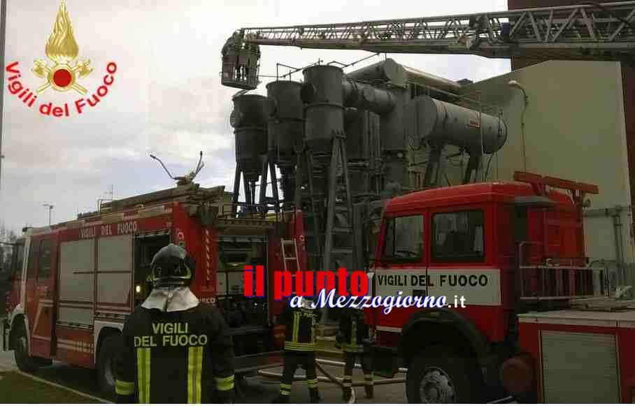 Incendio alla centrale turbogas di Aprilia, paura tra i residenti dell'area