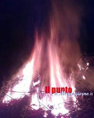 49enne finisce in manette a Villa Latina. Aveva appiccato il fuoco lungo il costone della montagna