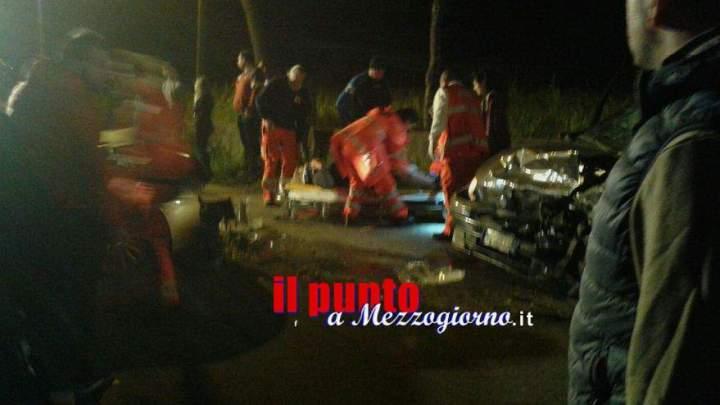 Incidente stradale a Piedimonte. Tre feriti, uno è grave