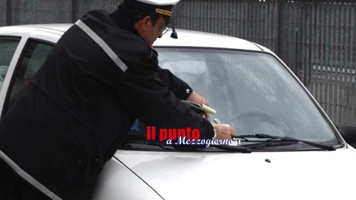 Polo universatario della Folcara, multe a raffica per le auto in sosta vietata