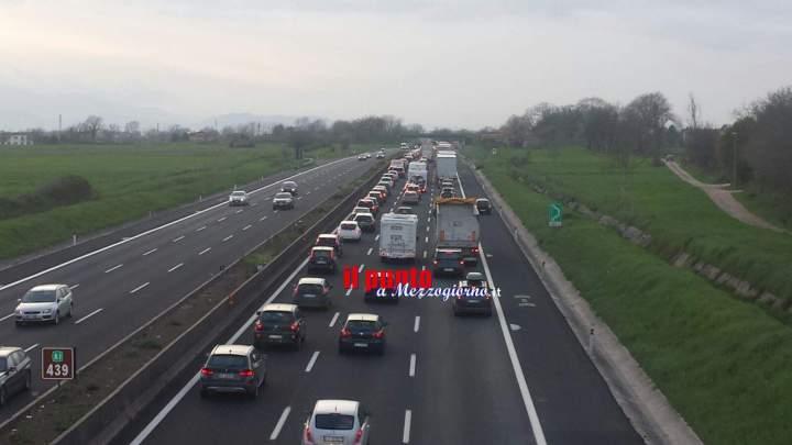Rientro dalle festività pasquali, traffico intenso sulle autostrade