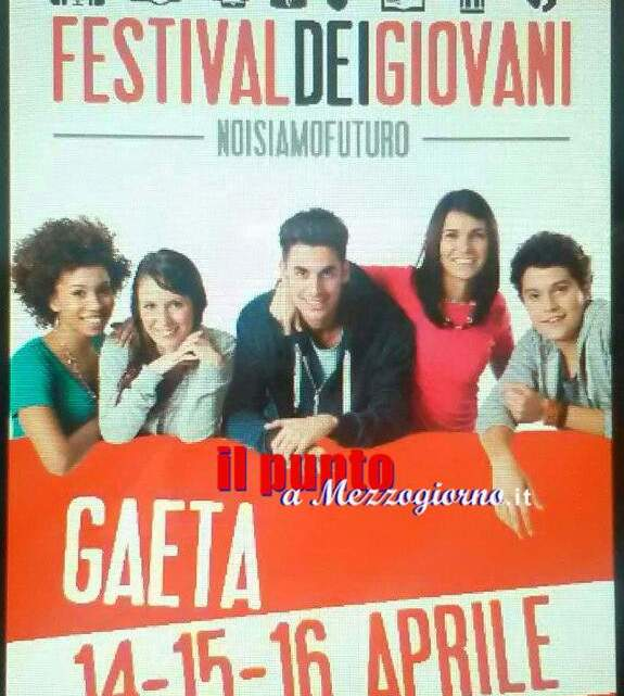 Festival dei giovani a Gaeta. Dal 14 al 16 aprile