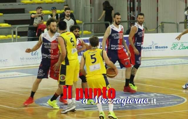 Basket serie B : La Virtus Cassino espugna il Pala Mangano di Scafati
