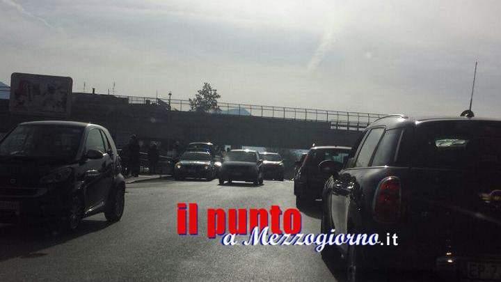 Incidente stradale, ciclista investito a Cassino. Traffico in tilt sulla Casilina