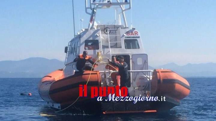 Peschereccio affondato a Terracina, la barca trovata a 24metri di profondità