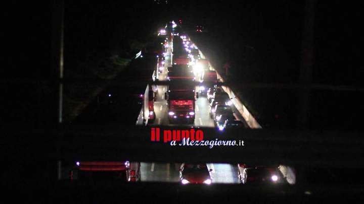 Incidente mortale sull'A1, 40enne perde la vita sul tratto maledetto Ceprano Pontecorvo