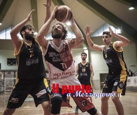 Basket serie B: La Virtus Cassino vince gara 1 dei quarti di finale contro Scafati