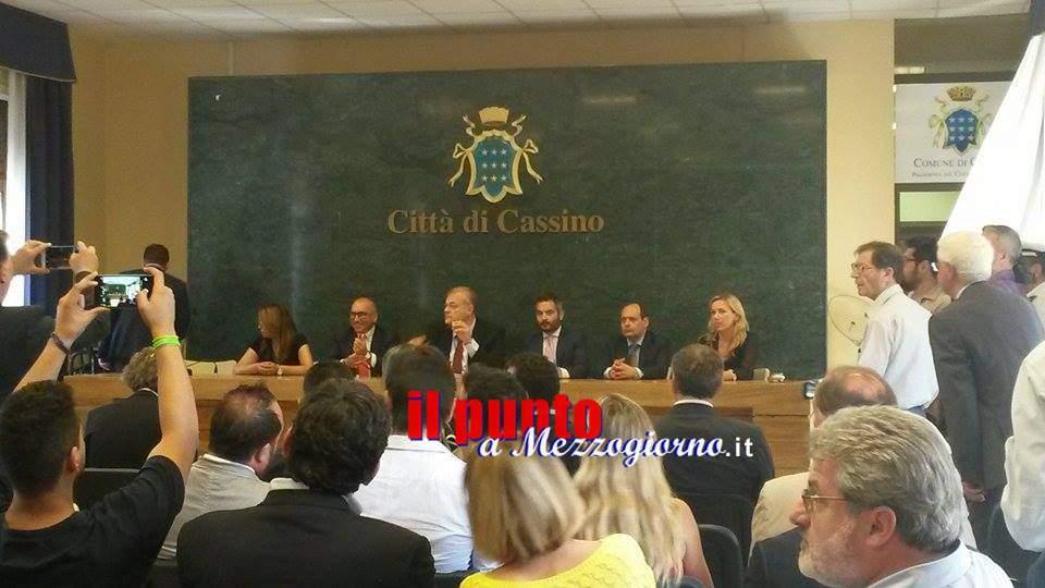 """Presentata la nuova """"Giunta D'Alessandro"""", fra vecchie conoscenze e new entry"""