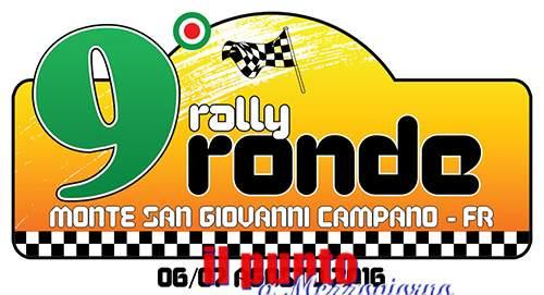 Tutto pronto per il 9° Rally Ronde Città di Monte San Giovanni Campano
