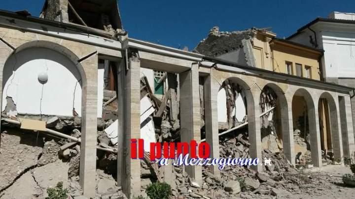 Amatrice, scenario apocalittico ai soccorritori giunti dalla provincia di Frosinone. TUTTE LE FOTO