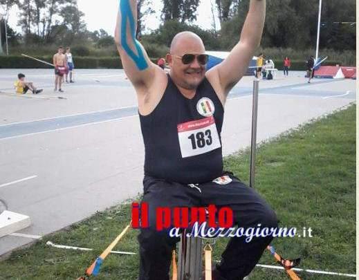 Vittima di incidente durante esercitazione militare, Giuseppe Campoccio di Cassino diventa campione paralimpico