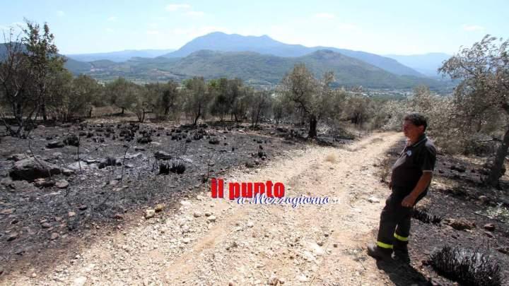 Emergenza incendi, spenti i roghi a San Pietro, San Vittore Cervaro ed Esperia