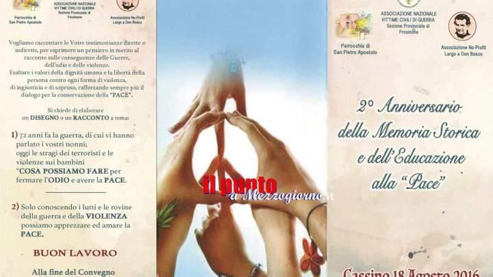 """""""La memoria siamo noi"""", giovedì 18 agosto a Largo don Bosco"""