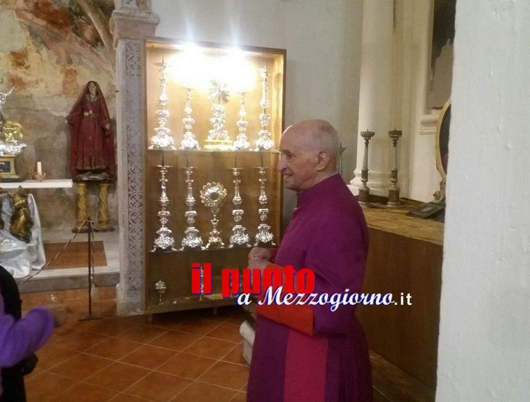 Parroco dei Record a Filettino, Monsignor De Sanctis celebra 74esimo anno di sacerdozio