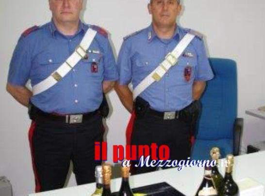 Macchina usata come ariete per rubare nei negozi, due persone arrestate ad Alatri