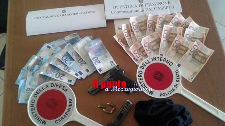 Cassino – Rapina al supermercato, recuperato bottino di 1200 euro