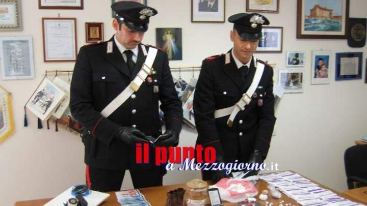 Droga a Lanciano, i carabinieri sequestrano mezzo chilo di stupefacenti e arrestano coppia di Campani