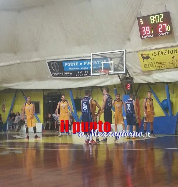 Basket: Sconfitta di misura, 59-57, per la N.B. Sora 2000