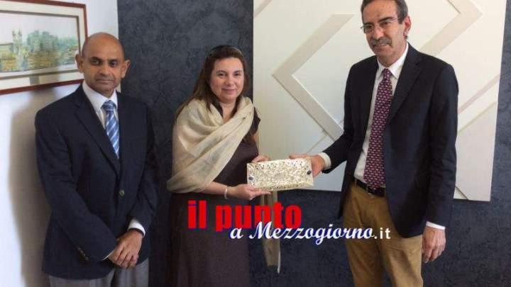 """L'Accademia delle belle arti di Frosinone """"vola"""" in Pakistan"""
