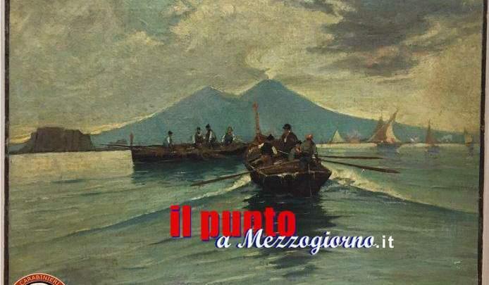 Tre quadri dell'800 rubati a Roma, ritrovati a Perugia