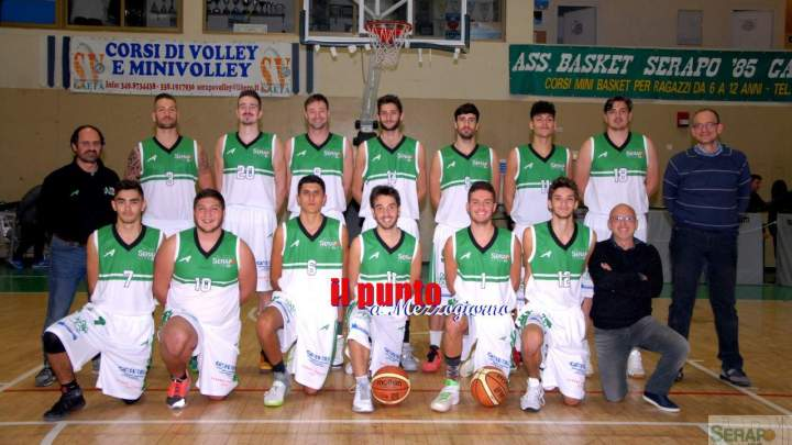 Basket Serie C Silver: Serapo, prova di carattere e St'Charles sconfitto 70-59