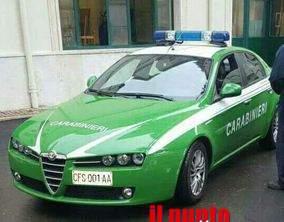 Azienda inquinante di Cassino sequestrata dai Carabinieri Forestali