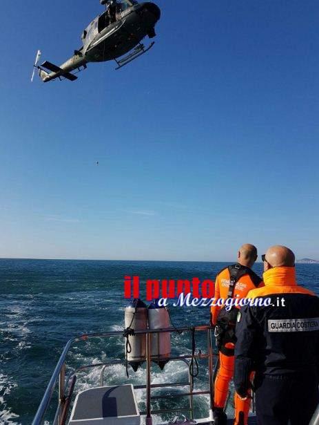 Esercitazione congiunta, mare-cielo a Gaeta tra Capitaneria ed Aeronautica