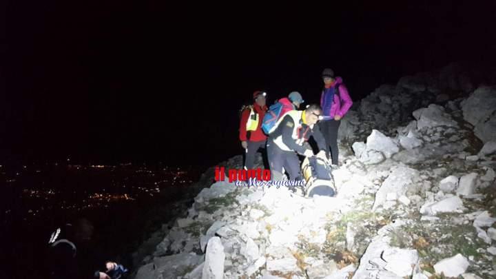 Due escursioniste si perdono sui monti Lepini, recuperate dal Soccorso Alpino