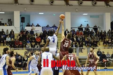 Basket A2: Ferentino torna alla vittoria, 73-62, contro Agropoli