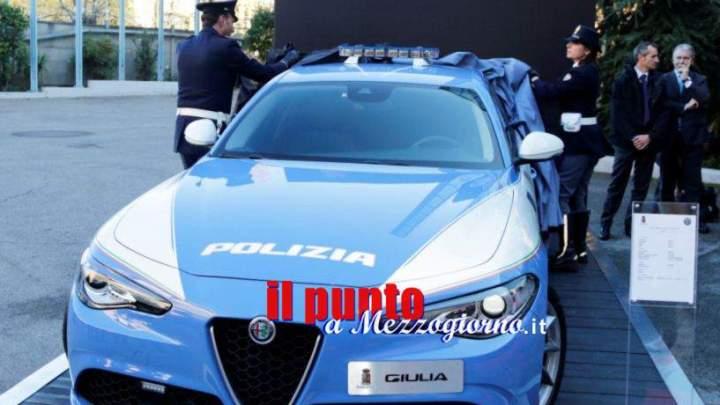"""""""Giulia di Cassino"""" la punta di diamante del parco auto della Polizia"""
