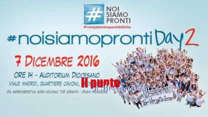 Competenze Infermieristiche, Infermieri di tutta Italia a Frosinone