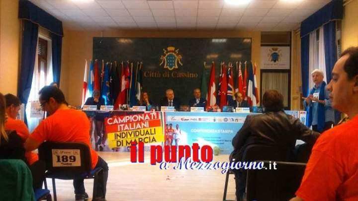 """Presentati """"Campionati Nazionali di Marcia"""" e II edizione di """"Diversamente in marcia"""""""
