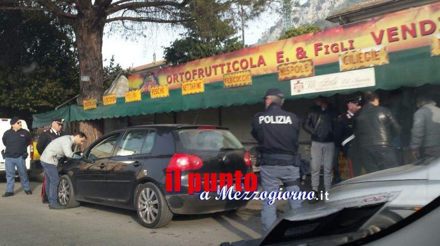 Iniziati i sequestri delle baracche della frutta a Cassino