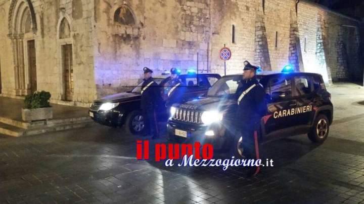 Fermato e denunciato dai carabinieri un 27enne per guida sotto effetto di alcool