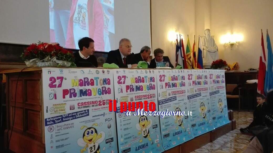 """Presentata in sala Restagno la """"27^ Maratona di Primavera 2017"""""""