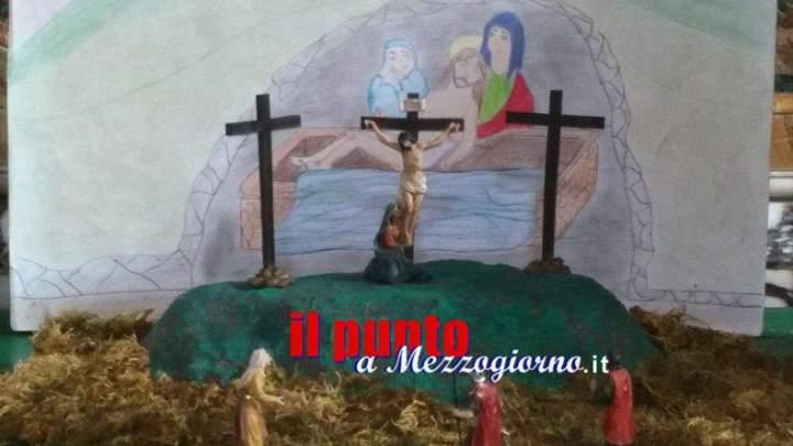 La tradizione del Presepe di Pasqua riscoperta nella scuola a Gavignano