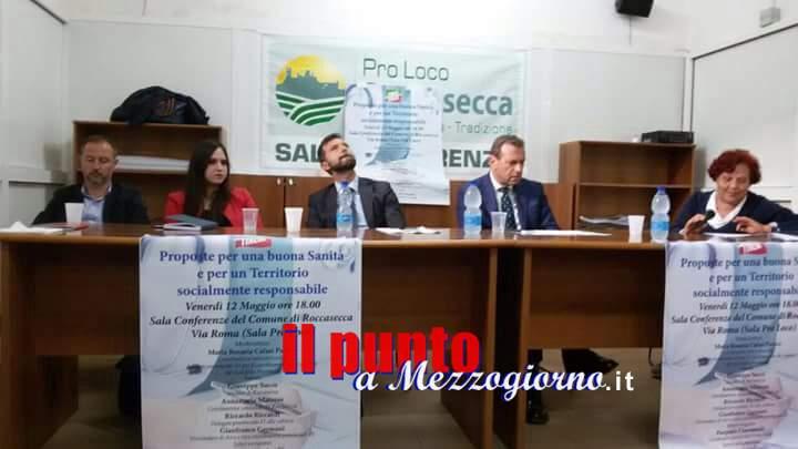 """Roccasecca- Convegno di Forza Italia """"Proposte per una buona Sanità e per un territorio socialmente responsabile"""""""