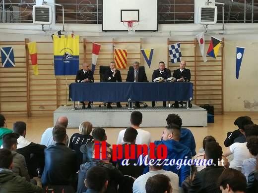 """Capitaneria di porto Gaeta e Istituto nautico Caboto: progetto """"Alternanza scuola – lavoro"""""""