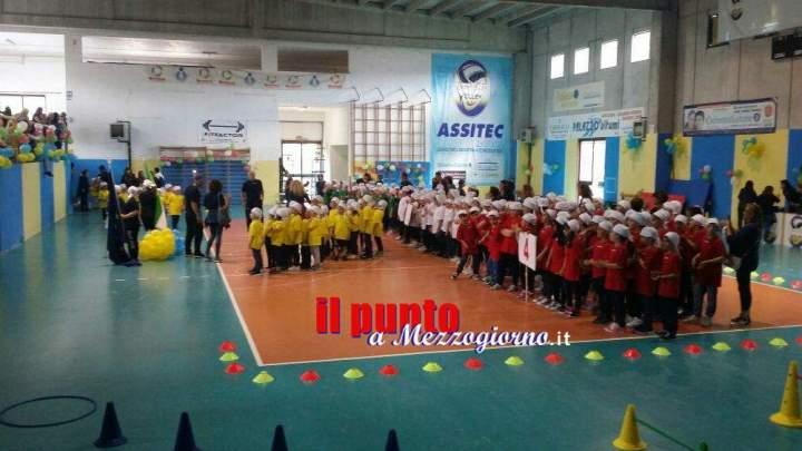 Sport in classe, pomeriggio di festa alle primarie di San'Elia, Vallerotonda e Valvori