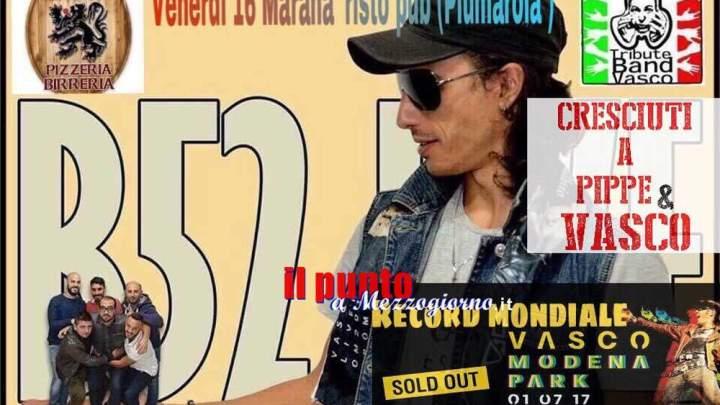Domani sera il concerto dei B52 a Piumarola